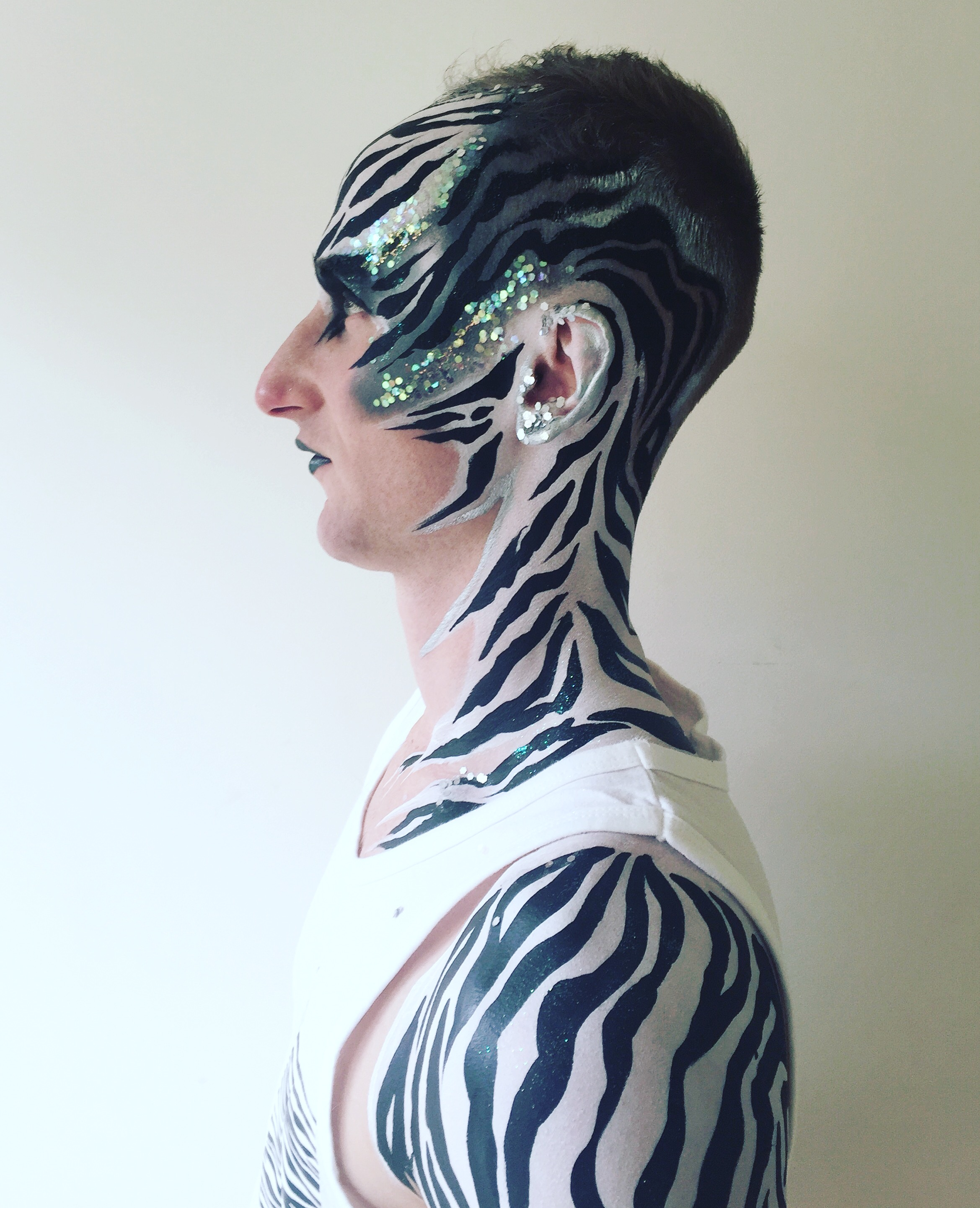 Booking Agent For Brierley Face Body Painter Contraband Events