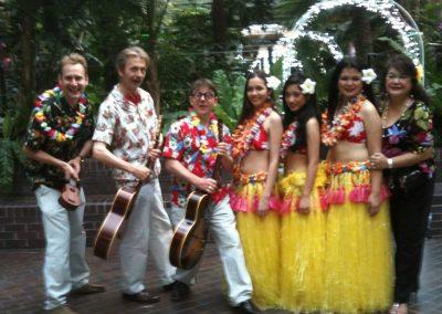 hula bluebirds lei aloha