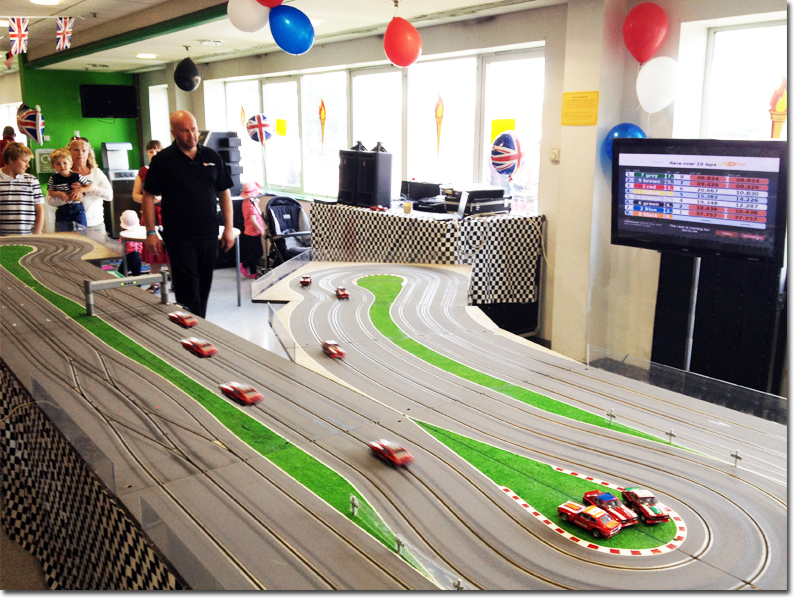 Booking agent for Digital Scalextric
