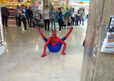 Spiderman Walkabout 2