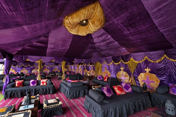 Booking for Arabian tents