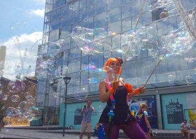 Bubble Love – Bubble Performer | UK