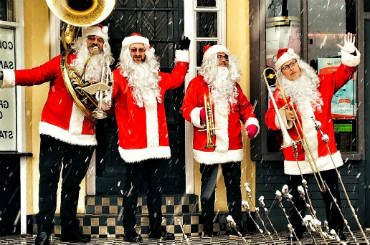 Hire The Brass Santas - Christmas Brass Quartet