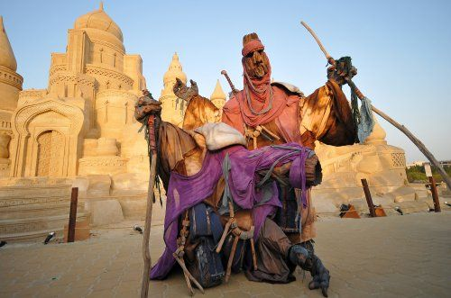 Booking act for the desert nomads