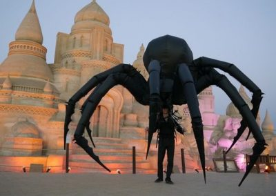 Giant Spider- Walkabout Creature Act | UK & International