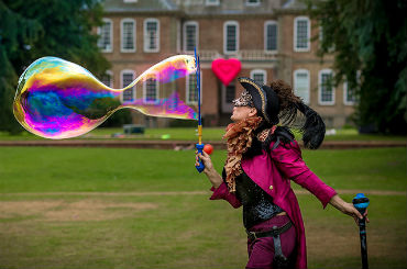 Hire / Book love a bubble bubble performer