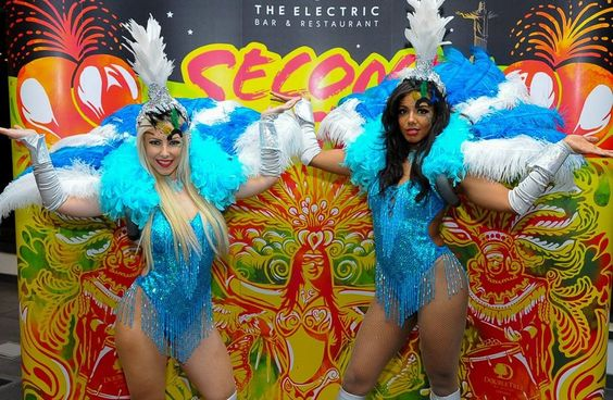 Booking for LED showgirls