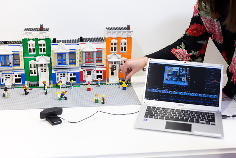 booking agent for lego animation team building workshop