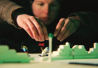 booking agent for lego animation workshop