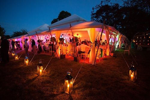 Booking for luxury marquees