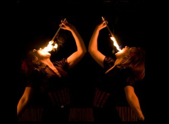 Booking agent for megan fire performer