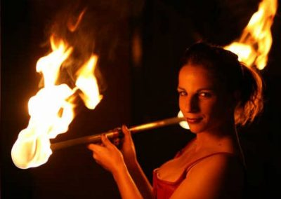 Nikki – Fire Performer | UK