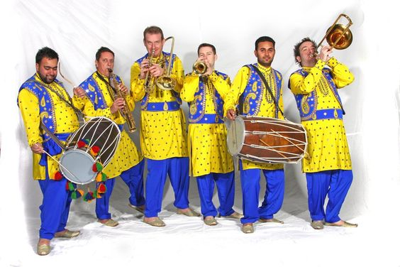 Booking agent for the bhangra band