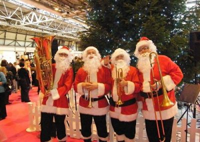 The Brass Santas – Christmas Brass Quartet | UK