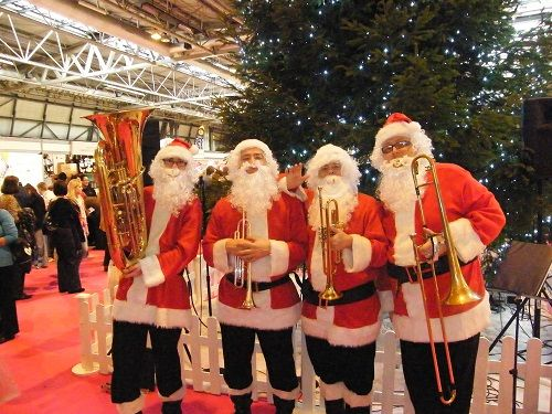 Booking agent for the brass santas