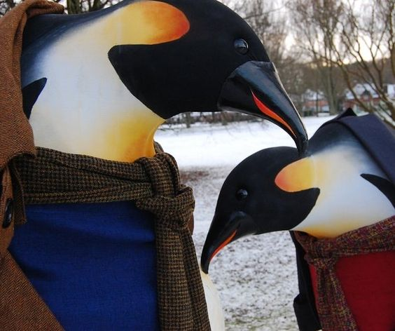 Booking for the Christmas penguins