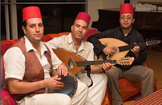 booking for the north african band