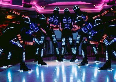 Led Dance Show: LED Tron Dance, Slovakia