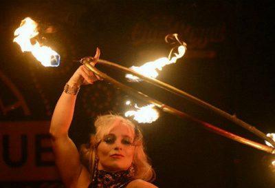 Anna – Fire & LED Hula Hooper | UK