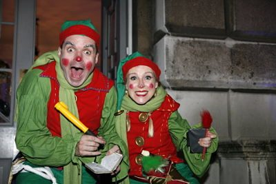 Christmas Elves – Mime Artists | UK