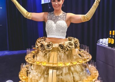Dressed Champagne Tables (5)