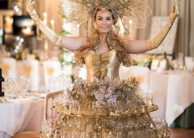Dressed Champagne Tables – Drink Entertainment | Worldwide