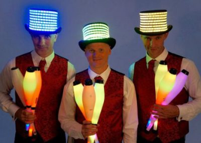 Glow Juggling Troupe – LED Jugglers | UK