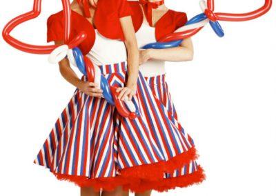 Lush Balloons – Walkabout Characters | UK