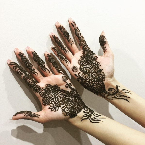 Booking Agent for Minreet - Henna Artist