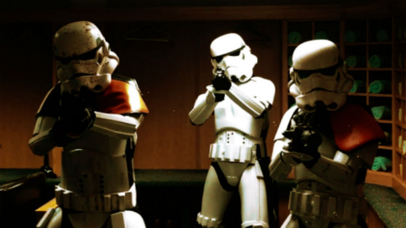 booking agent for storm troopers-walkabout act