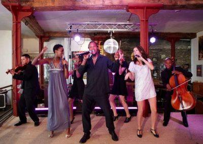 USO Little Big Band – Vocal String Orchestra | UK