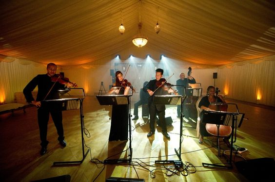booking agent for acoustic ensemble