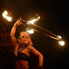 Anna – Fire & LED Hula Hooper | UK