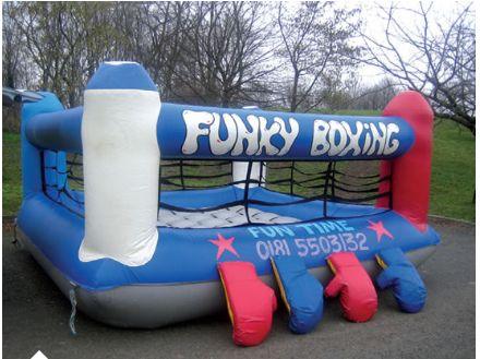 Booking agent for bouncy boxing