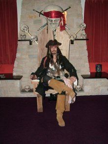 booking agent for caribbean pirates theme