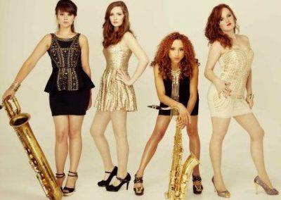 Female Sax Quartet – Sax Quartet | UK