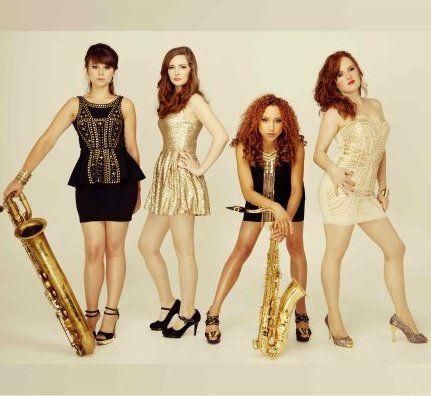 Booking agent for female sax quartet
