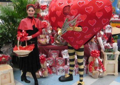 Fun Hearts – Walkabout Characters | UK