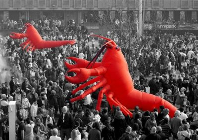 Giant Lobster – Walkabout Act | UK