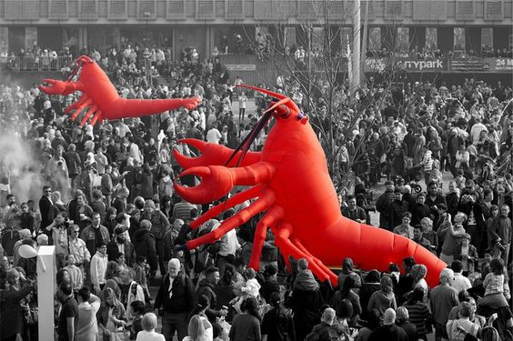 Booking agent for giant lobster