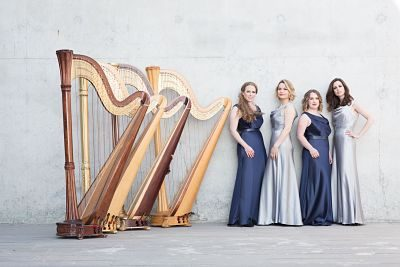 Girls & Harps – Harp Quartet | UK