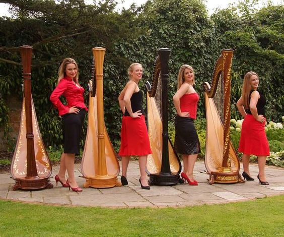 Booking agent for girls and harps