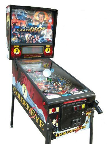 Booking agent for golden eye pinball machine