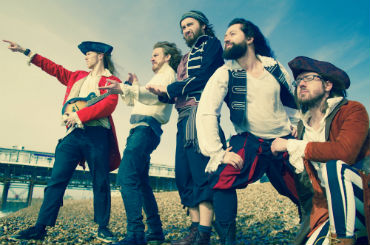 Hire / Book captain's beard shanty band party and function band