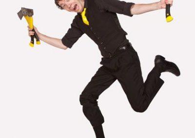 Comedy Juggler, Australia: James BuSTAR