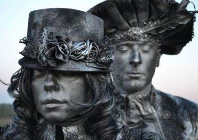 Joanna & Marcin – Human Statues | UK
