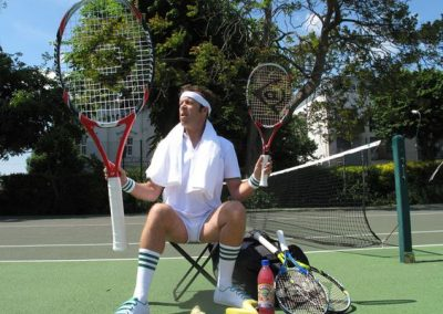 John Racket Throw – Tennis Juggler Act | UK