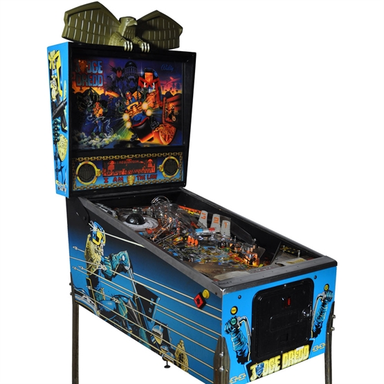 Booking agent for judge dredd pinball machine