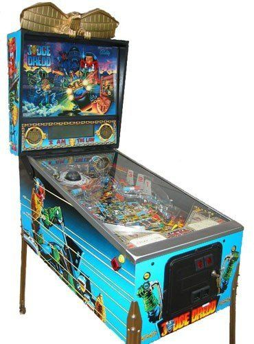 Booking agent for judge dredd pinball machine