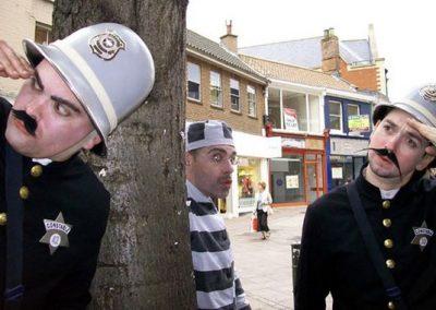 Comedy Performers: The Keystone Kops